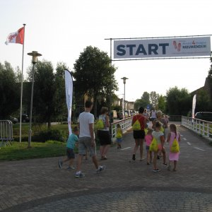 Start- en finishlocatie